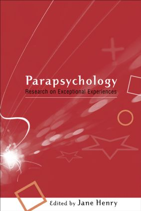 Parapsychology: Research on Exceptional Experiences book cover