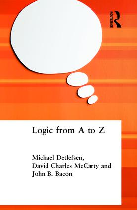 Logic from A to Z: The Routledge Encyclopedia of Philosophy Glossary of Logical and Mathematical Terms book cover