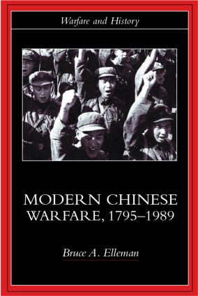 Modern Chinese Warfare, 1795-1989 (Paperback) book cover