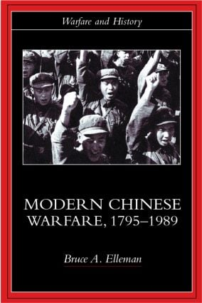 Modern Chinese Warfare, 1795-1989: 1st Edition (Paperback) book cover