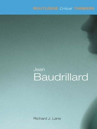 Jean Baudrillard book cover