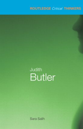 Judith Butler: 1st Edition (Paperback) book cover