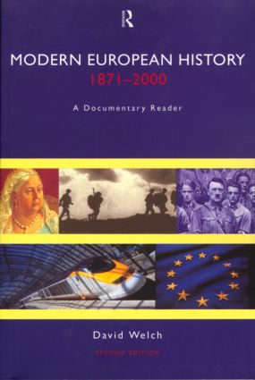 Modern European History, 1871-2000: A Documentary Reader, 2nd Edition (Paperback) book cover