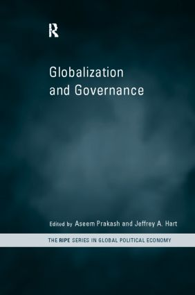 Globalization and Governance (Hardback) book cover