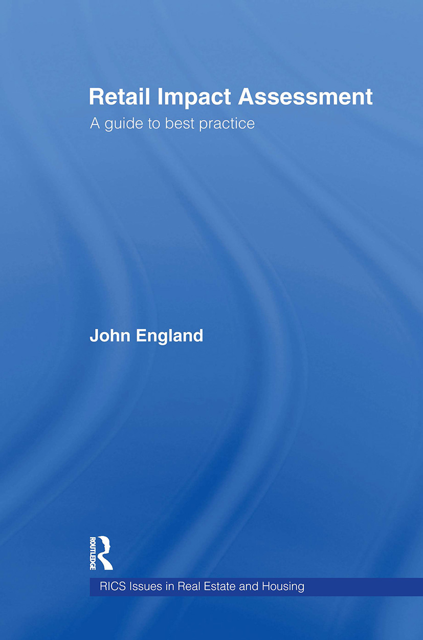 Retail Impact Assessment: A Guide to Best Practice, 1st Edition (Hardback) book cover