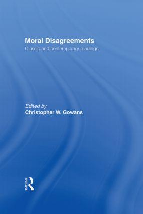 Moral Disagreements