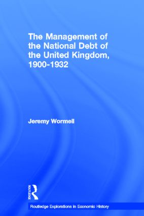 The Management of the National Debt of the United Kingdom 1900-1932 (Hardback) book cover