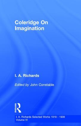Coleridge On Imagination V 6: 1st Edition (Hardback) book cover