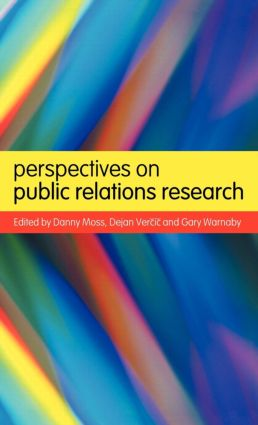 Perspectives on Public Relations Research: 1st Edition (Hardback) book cover