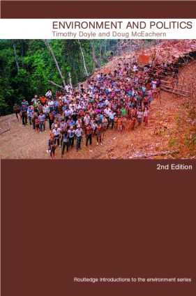 Environment and Politics, 2nd edition book cover