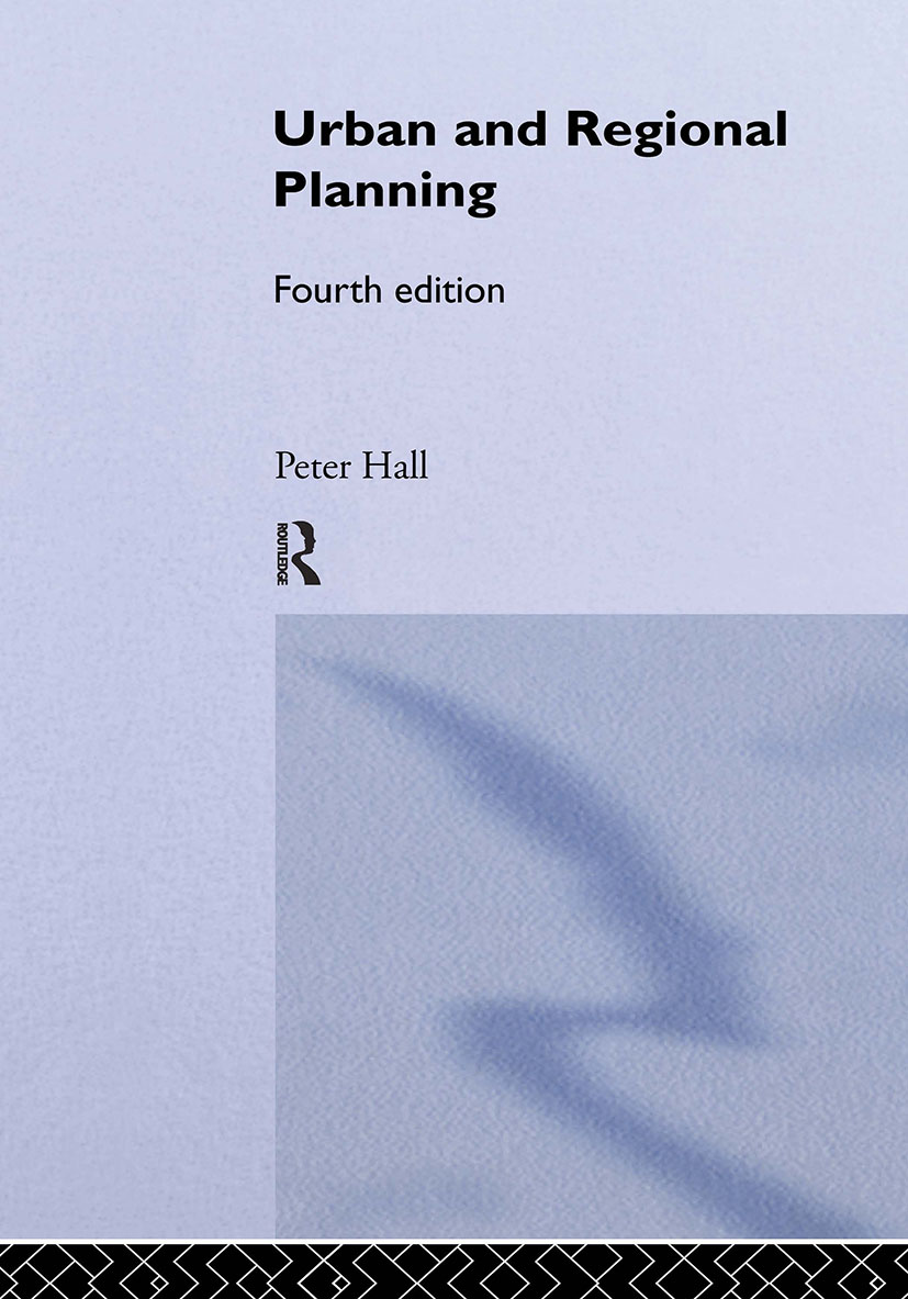 Urban and Regional Planning: 4th Edition (Hardback) book cover