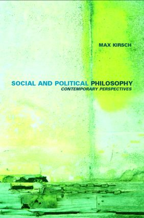 TOWARD RECONCILIATION IN SOCIAL AND POLITICAL PHILOSOPHY