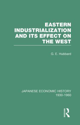 Eastern Indust&Effect West V 3 (Hardback) book cover