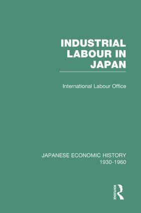 Industrial Japan V 5: 1st Edition (Hardback) book cover
