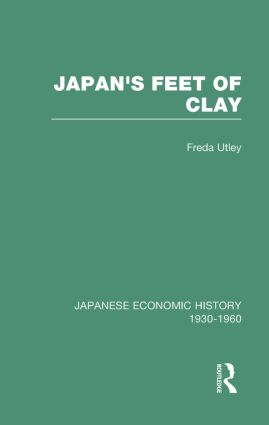 Japans Feet Of Clay V 9: 1st Edition (Hardback) book cover