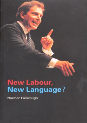 New Labour, New Language?: 1st Edition (Paperback) book cover