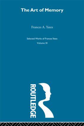 Art Of Memory (Hardback) book cover