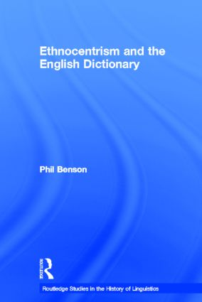 Ethnocentrism and the English Dictionary book cover