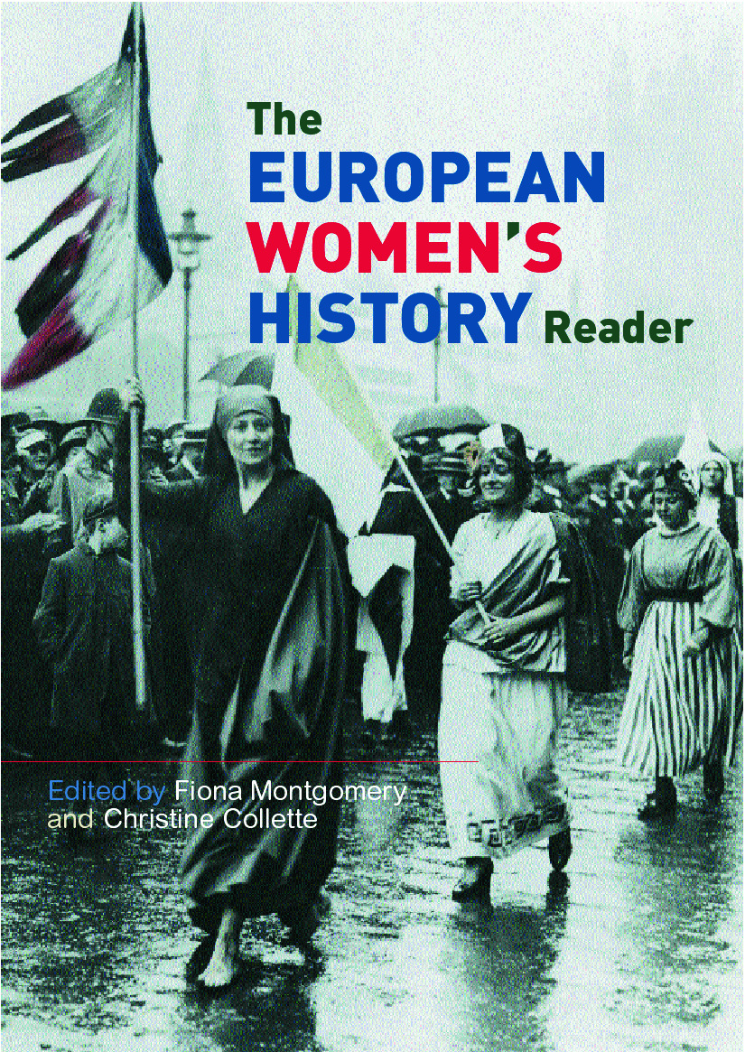 European Women's History Reader: 1st Edition (Paperback) book cover