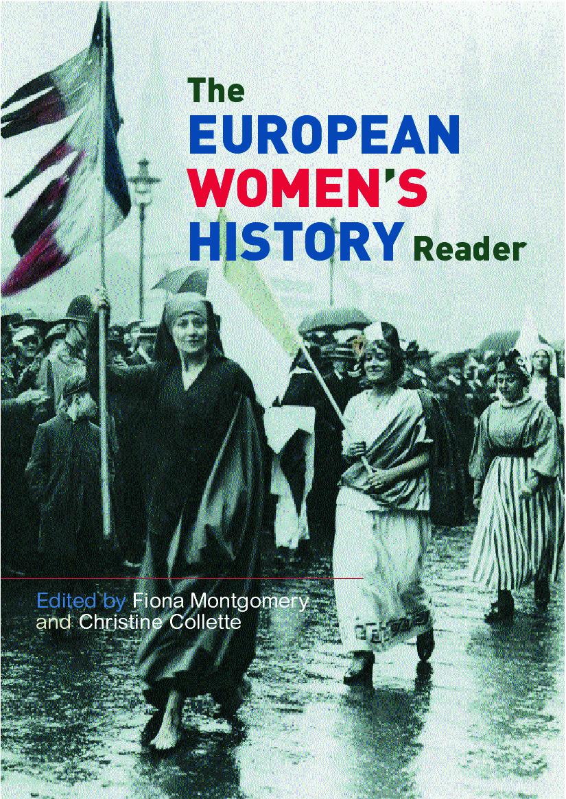 European Women's History Reader book cover