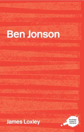 Ben Jonson (Paperback) book cover