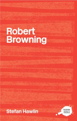 Robert Browning: 1st Edition (Paperback) book cover