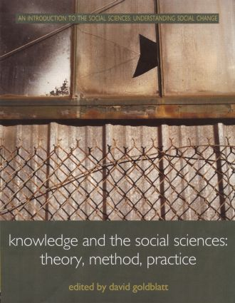 Knowledge and the Social Sciences: Theory, Method, Practice book cover