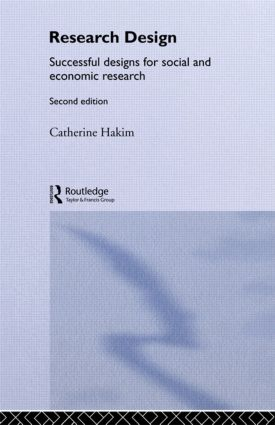 Research Design: Succesful Designs for Social Economics Research, 2nd Edition (Paperback) book cover
