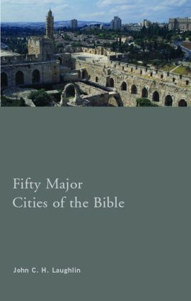 Fifty Major Cities of the Bible (Paperback) book cover