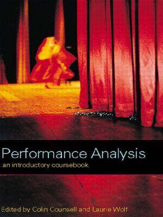 Performance Analysis: An Introductory Coursebook (Paperback) book cover