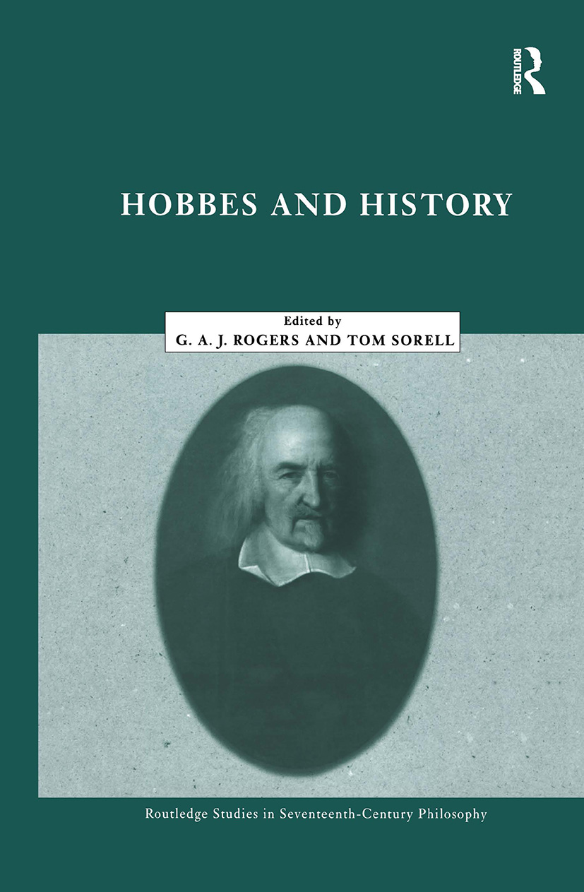 Hobbes and History book cover