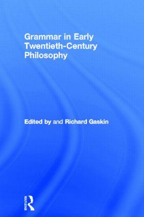 Nonsense and necessity in Wittgenstein's mature philosophy