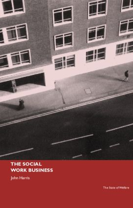 The Social Work Business (Paperback) book cover