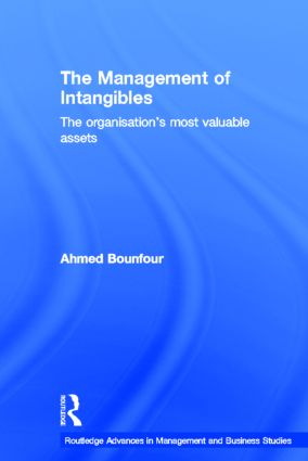 The Management of Intangibles: The Organisation's Most Valuable Assets book cover