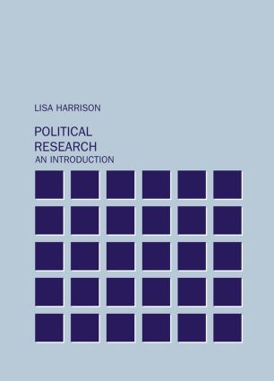Political Research: An Introduction, 1st Edition (Hardback) book cover