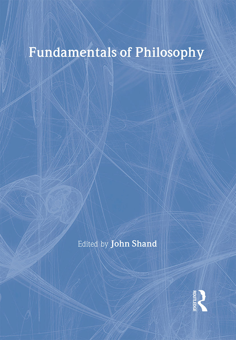 Fundamentals of Philosophy: 1st Edition (Hardback) book cover