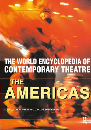 World Encyclopedia of Contemporary Theatre: The Americas (Paperback) book cover