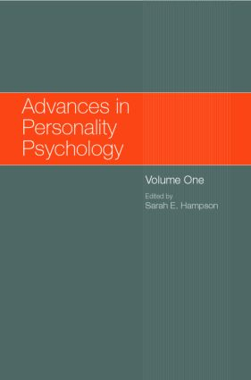 Advances in Personality Psychology: Volume 1, 1st Edition (Hardback) book cover
