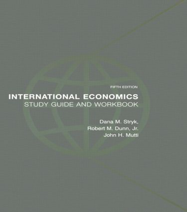 International Economics Study Guide and Workbook: 5th Edition (Paperback) book cover