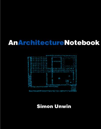 An Architecture Notebook (Paperback) book cover