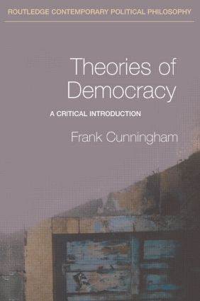 Theories of Democracy: A Critical Introduction book cover