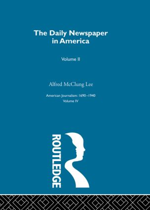 Daily Newspaper America Pt2: 1st Edition (Hardback) book cover