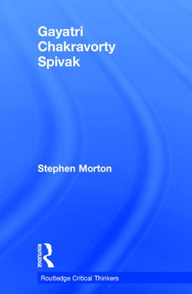 Gayatri Chakravorty Spivak book cover