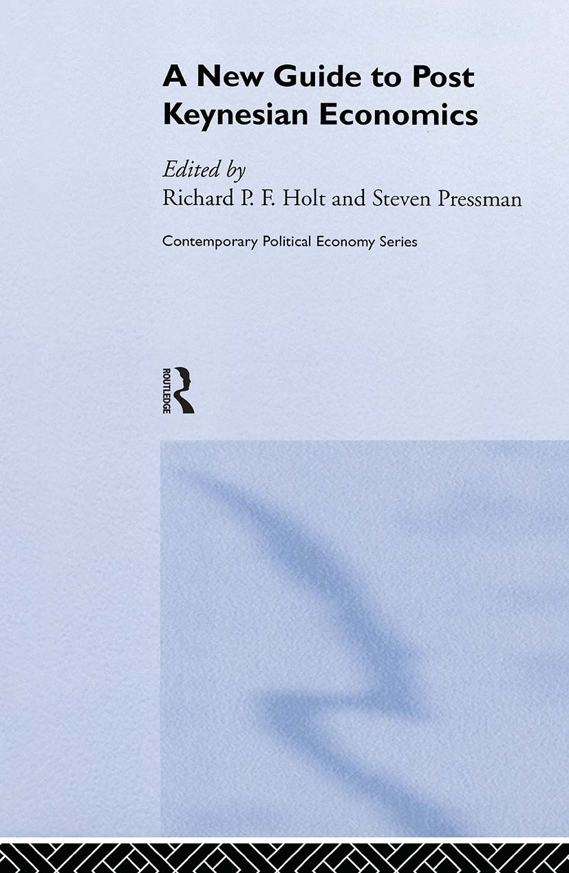 A New Guide to Post-Keynesian Economics: 1st Edition (Hardback) book cover