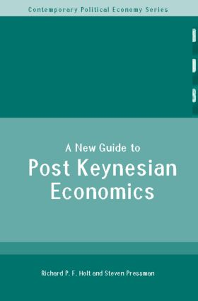 A New Guide to Post-Keynesian Economics (Paperback) book cover