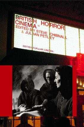 British Horror Cinema book cover