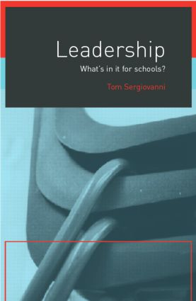 Leadership: What's In It For Schools? (Paperback) book cover