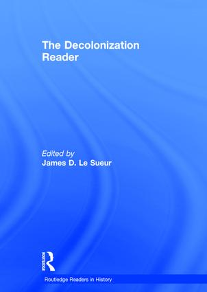 The Decolonization Reader: 1st Edition (Hardback) book cover