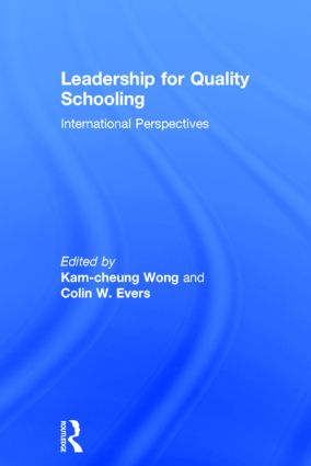 Leadership for Quality Schooling: 1st Edition (Hardback) book cover