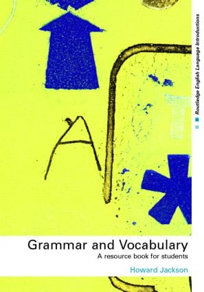 Grammar and Vocabulary: A Resource Book for Students book cover